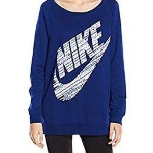 Nike Mikina Rally Boyfriend crew sweatshirt size L